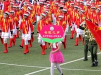 滕州庆祝建队节68周年鼓号队大赛,华彩琴行又火了!
