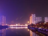 家乡美—善国桥畔夜景