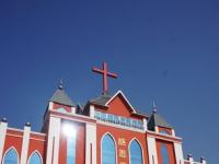 山亭区新建基督教堂本月12日献堂