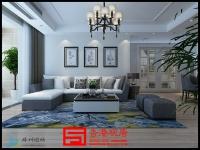 滕州滨江御园175平方米现代简约风格效果图 简单装修温润脱俗