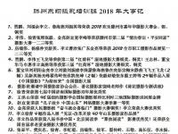 燕翔摄影班2018大事记