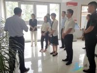 重庆市丰都县领导来南沙河考察