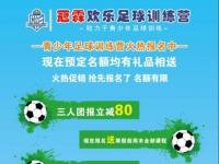 冠霖欢乐足球训练营