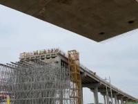 与微山同城化!京台高速微山湖连接线计划年底建成通车