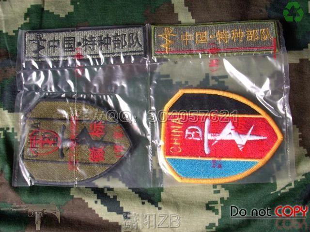 中国特种部队胸标 臂章图片